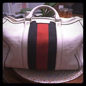 Gucci web Boston bag